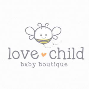 Bee logo - Love Child Baby Boutique